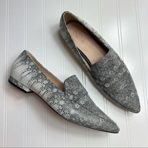 27 Edit • NWOT Harlow Loafer in Lizard Leather